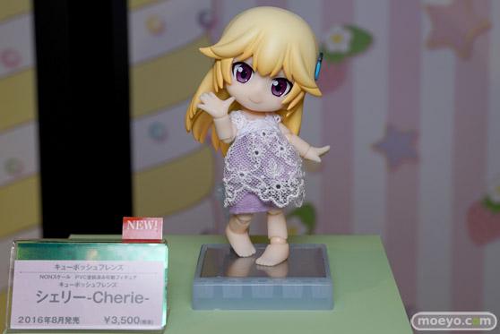 コトブキヤ秋葉原館の新作美少女フィギュアとキューポッシュのサンプル展示の様子14