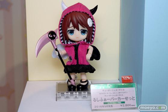 コトブキヤ秋葉原館の新作美少女フィギュアとキューポッシュのサンプル展示の様子15