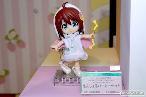 コトブキヤ秋葉原館の新作美少女フィギュアとキューポッシュのサンプル展示の様子16