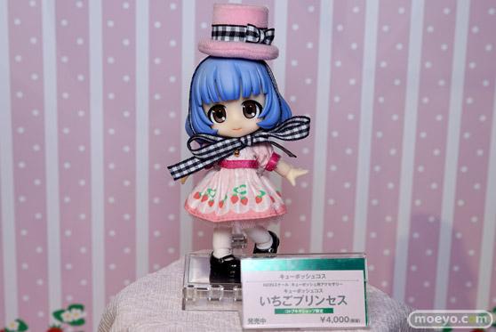 コトブキヤ秋葉原館の新作美少女フィギュアとキューポッシュのサンプル展示の様子18