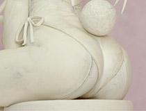 カワエロなバニー姿で立体化♪ アルター新作フィギュア「ヨスガノソラ 春日野穹-Bunny Style-」製作中原型が展示!【WF2016冬】