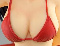 真っ赤なセクシービキニ姿!ウェーブ「BEACH QUEENS きまぐれオレンジ☆ロード 鮎川まどか」新作フィギュア製品版画像レビュー