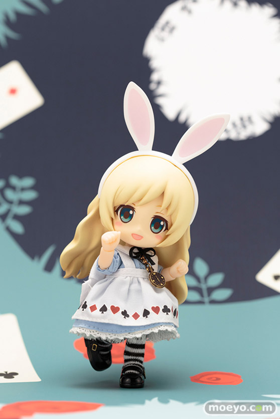 コトブキヤのキューポッシュフレンズ アリス-Alice- 可動フィギュアの新作フィギュアサンプル画像09