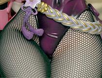 ムッチムチなバニー姿!ヴェルテクス新作フィギュア「戦国武将姫-MURAMASA- 藤堂高虎」監修中彩色サンプルが展示!【宮沢展示会37】