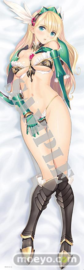 ビキニ・ウォリアーズ ヴァルキリー抱き枕カバーのサンプル画像01