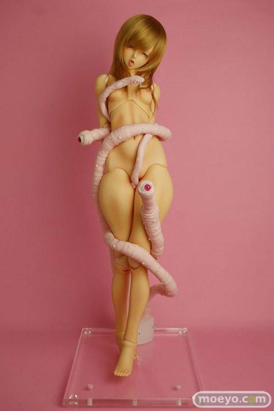 触手スタンド Piカラー:魔眼+ヒルワーム(3本フルセット)のサンプル画像01