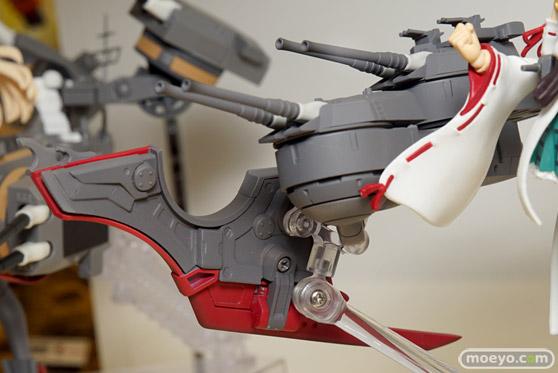 バンダイのアーマーガールズプロジェクト 艦これ 比叡改二の新作フィギュア彩色サンプル画像08