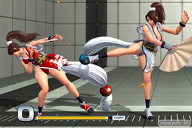 THE KING OF FIGHTERS XIV Demo Verの不知火舞のエロパンツ画像05