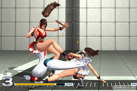 THE KING OF FIGHTERS XIV Demo Verの不知火舞のエロパンツ画像06