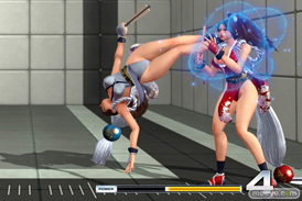 THE KING OF FIGHTERS XIV Demo Verの不知火舞のエロパンツ画像08