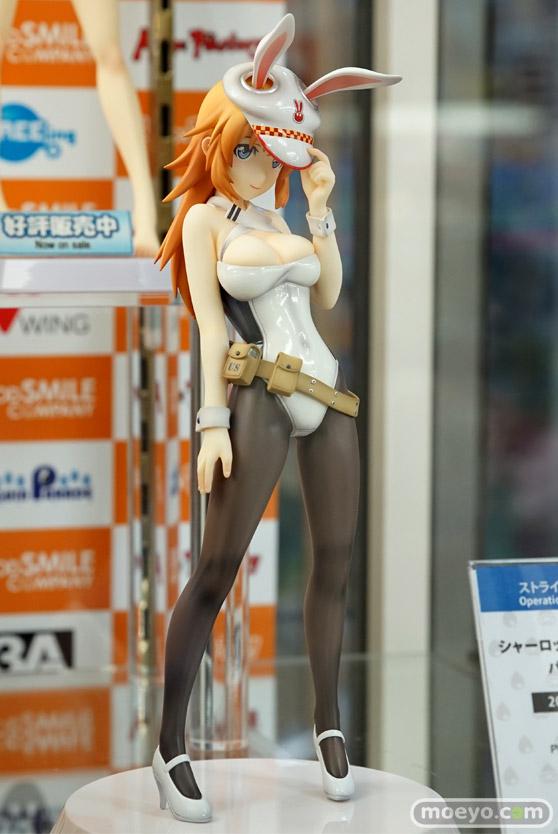 秋葉原の各お店の新作美少女フィギュア展示の様子 おっぱい お尻 バニー11