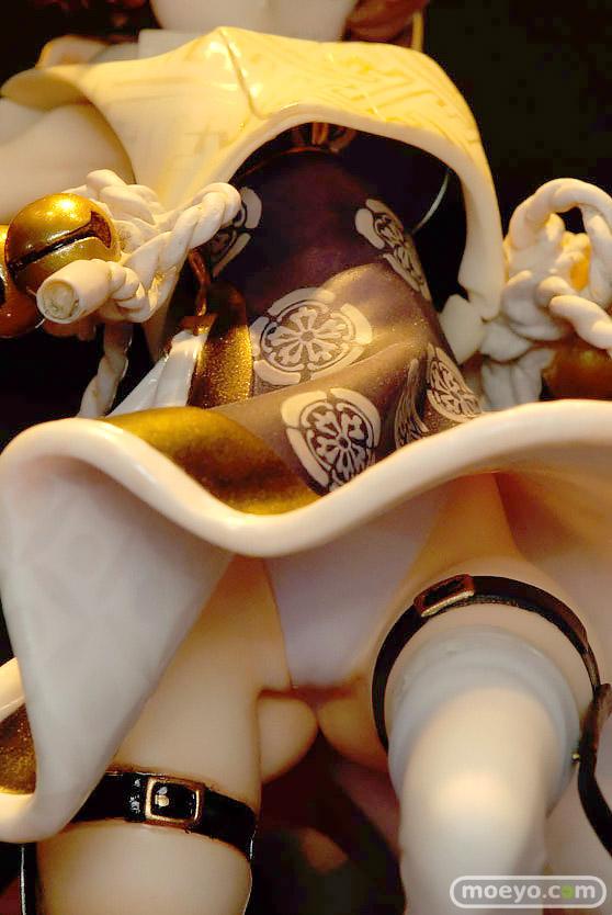 ワンダーフェスティバル 2016[夏]のワンダーショウケースブースの空母ヲ級 ver.K 「化猫陰陽師」月影 中川凰蘭 ガレージキット作例展示の様子画像 09