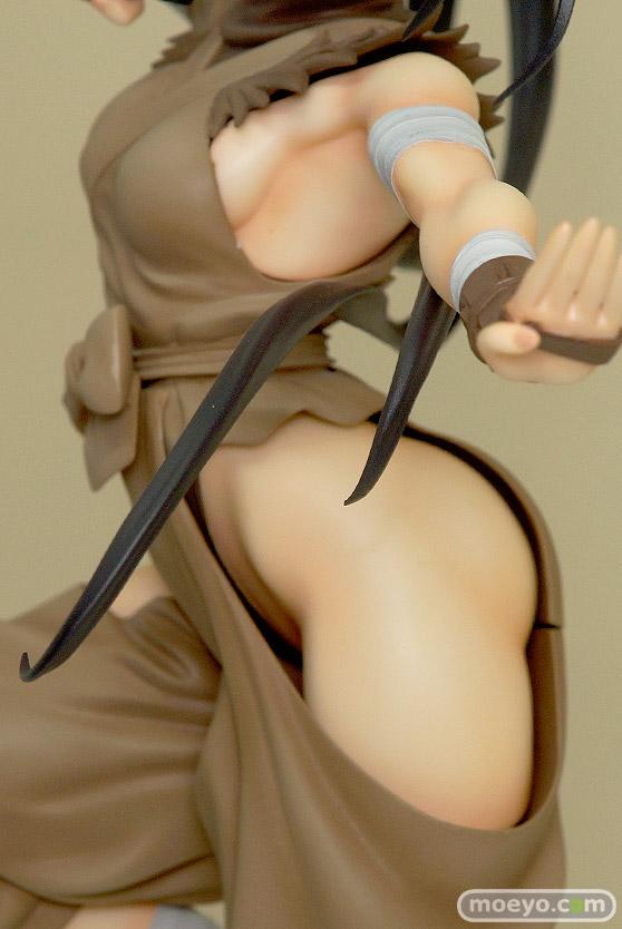 コトブキヤのSTREET FIGHTER美少女 いぶきの新作フィギュア彩色サンプル画像07