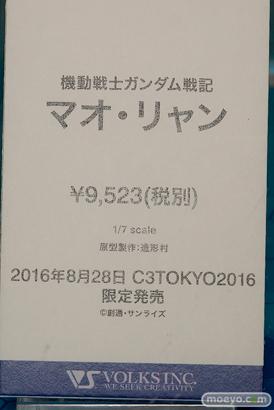 C3TOKYO2016の新作フィギュア展示の様子 ウェーブ ボークス 画像36