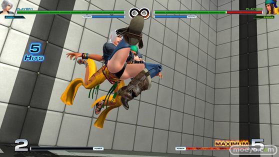 THE KING OF FIGHTERS XIVのルオンのエロ技股間画像18