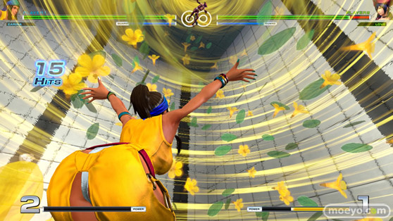 THE KING OF FIGHTERS XIVのルオンのエロ技股間画像22