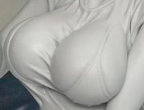 ケシカランおっぱい!メガハウス新作フィギュア「P.O.P ワンピース LE ネフェルタリ・ビビ Ver.BB」製作中原型が展示!【WF2016夏】