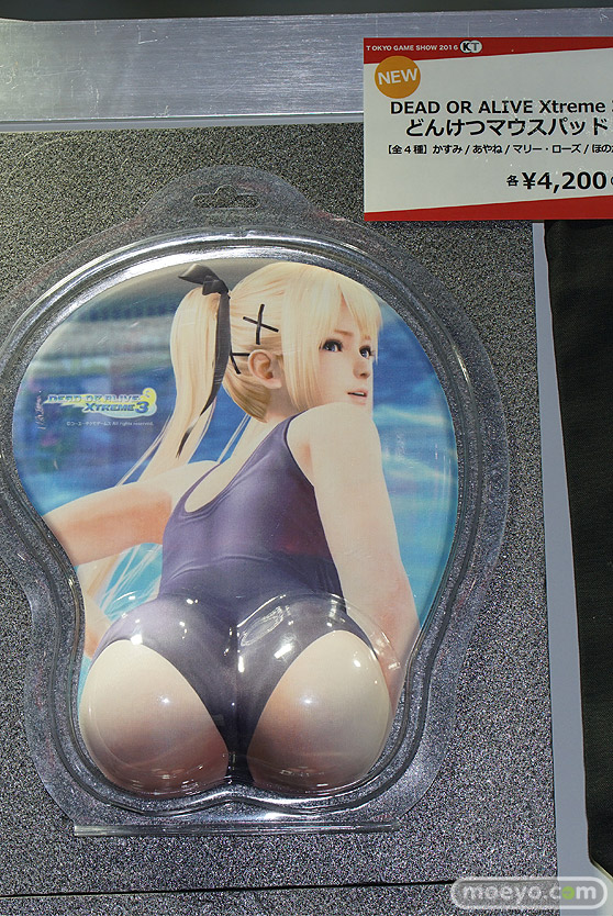 どんけつマウスパッド他 東京ゲームショウ2016の物販ブースで気になったもの画像02