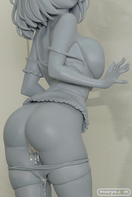 ネイティブの押し付け胸の女の子(仮) 石恵の新作フィギュア原型画像06