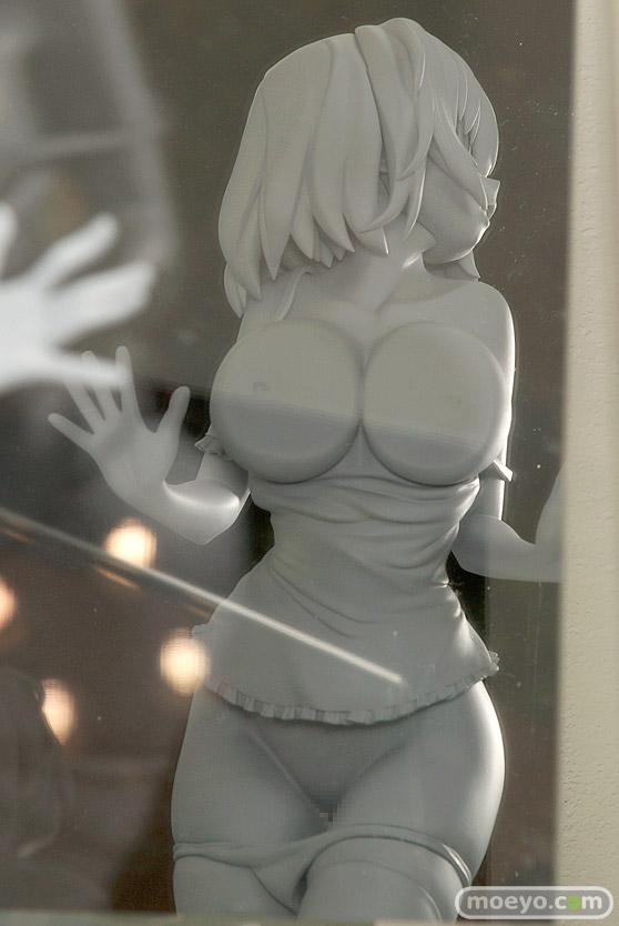 ネイティブの押し付け胸の女の子(仮) 石恵の新作フィギュア原型画像07