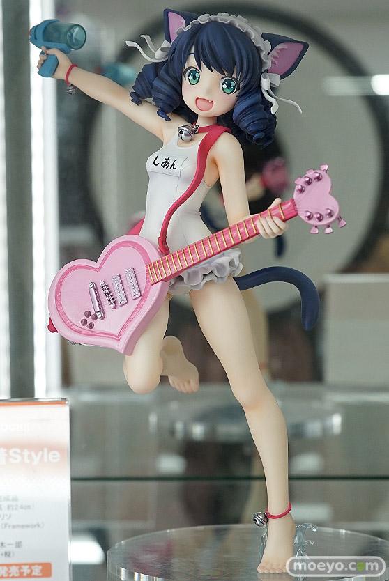 キューズQのSHOW BY ROCK!! シアン 水着Styleの新作フィギュア彩色サンプル画像01