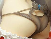 スカイチューブ新作フィギュア「コミックホットミルク2012年2月号 白咲天音 illustration by 鬼月あるちゅ」の彩色サンプルが展示!