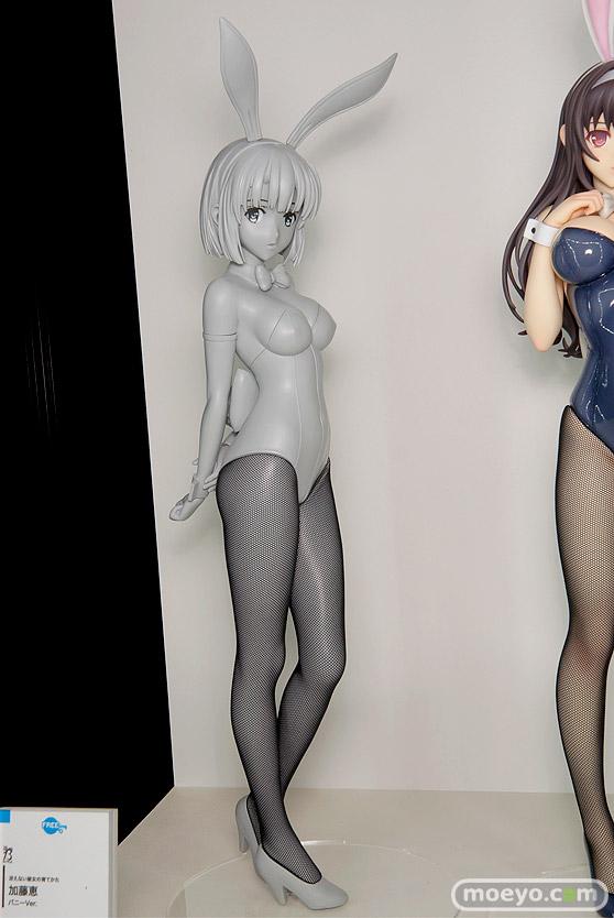 フリーイングの冴えない彼女の育てかた 加藤恵 バニーVer.の新作フィギュア原型画像01