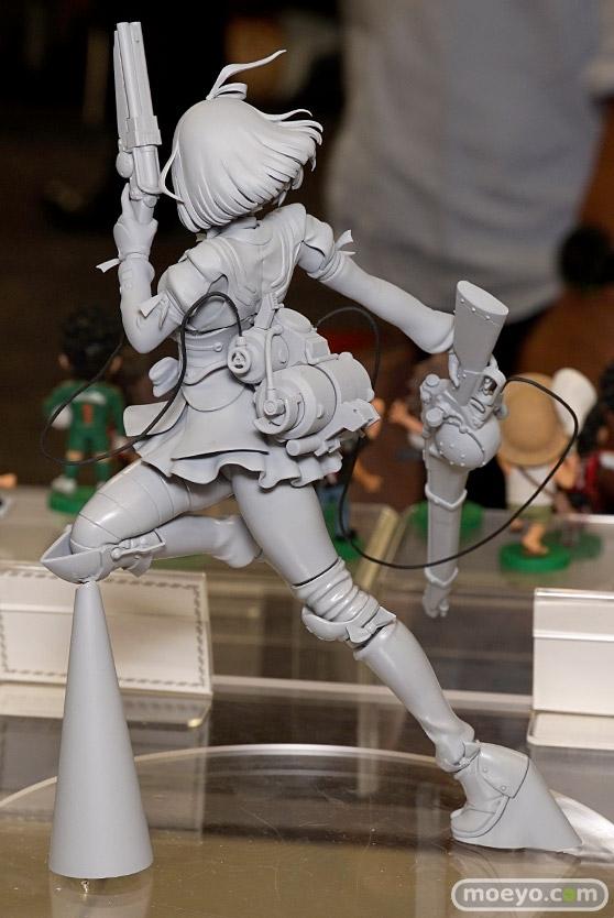 ユニオンクリエイティブのHdge technical statue 甲鉄城のカバネリ 無名の新作フィギュア原型画像04