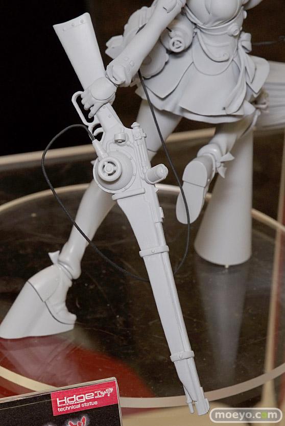 ユニオンクリエイティブのHdge technical statue 甲鉄城のカバネリ 無名の新作フィギュア原型画像12