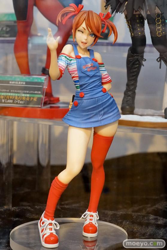 コトブキヤのHORROR美少女 チャッキーの新作フィギュア彩色サンプル画像01