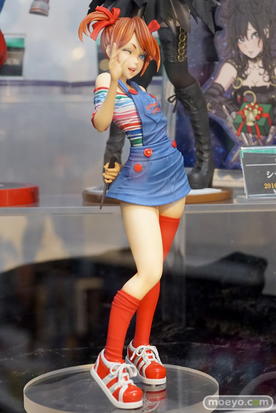 コトブキヤのHORROR美少女 チャッキーの新作フィギュア彩色サンプル画像02