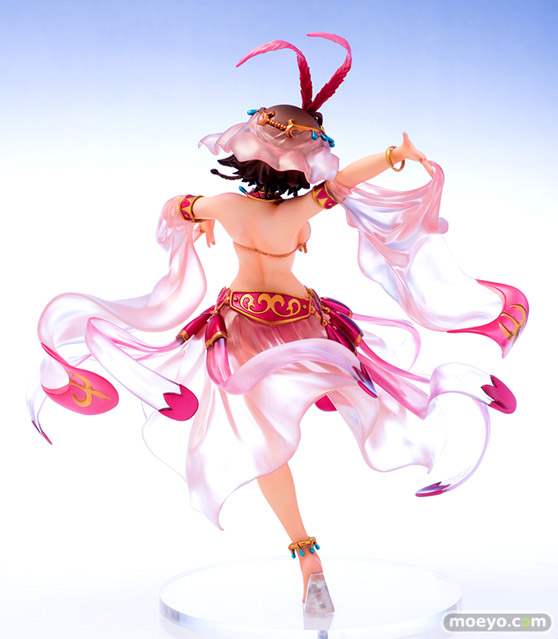 キューズQの翠星のガルガンティア エイミー 踊り子Styleの新作フィギュア彩色サンプル画像04