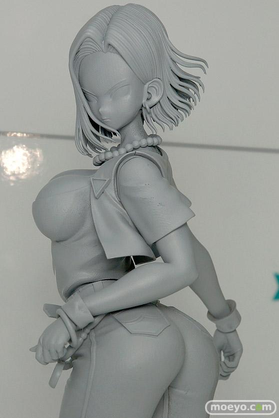 メガハウスのドラゴンボールギャルズ 人造人間18号 Ver.II(仮)の新作フィギュア原型画像04