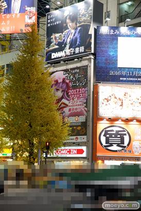 秋葉原での新作フィギュア展示の様子画像03