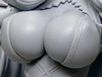 ヴェルテクス新作フィギュア「ボーダーブレイク フィオナ 本庄雷太ver.」監修中原型が展示!【宮沢展示会38】