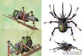 ホビージャパンの書籍 機械昆蟲制作のすべて 進化し続けるメカニカルミュータントたちのサンプル画像02