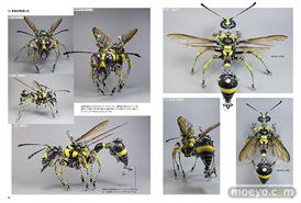 ホビージャパンの書籍 機械昆蟲制作のすべて 進化し続けるメカニカルミュータントたちのサンプル画像04