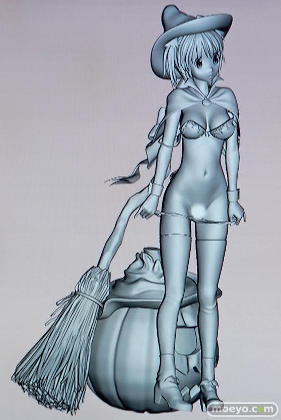 美少女大陸のハロウィン少女の新作アダルトフィギュア原型画像13