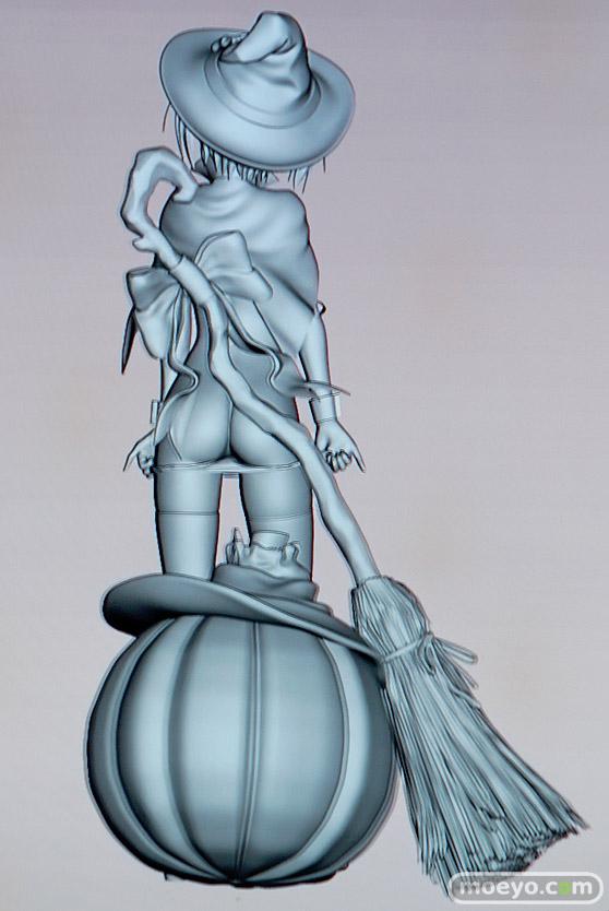 美少女大陸のハロウィン少女の新作アダルトフィギュア原型画像16
