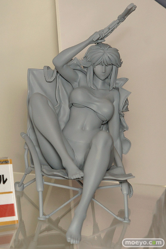 グランドトイズのサイレントメビウス キディ・フェニルの新作フィギュア原型画像02