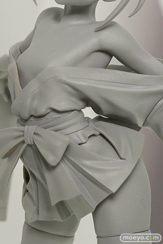 ホビージャパンの咲 -Saki- 全国編 薄墨初美の新作フィギュア原型画像07
