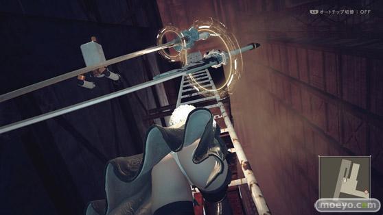NieR_Automata ニーア オートマタ 2Bのおパンツとお尻画像01