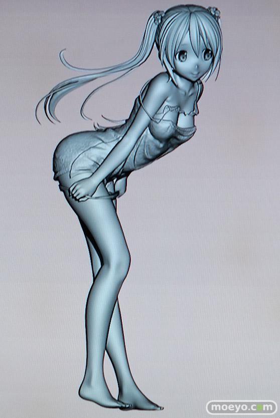 美少女大陸のこうたろさんイラスト新作フィギュアの3D原型画像02