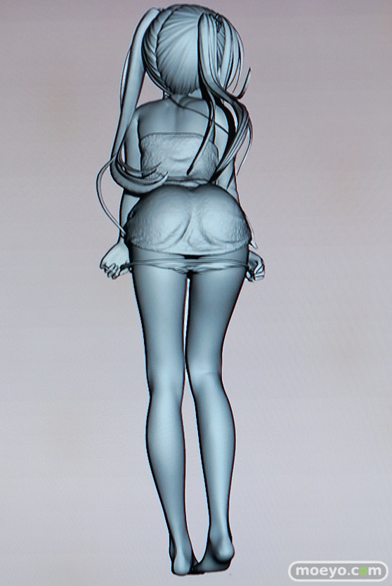 美少女大陸のこうたろさんイラスト新作フィギュアの3D原型画像04