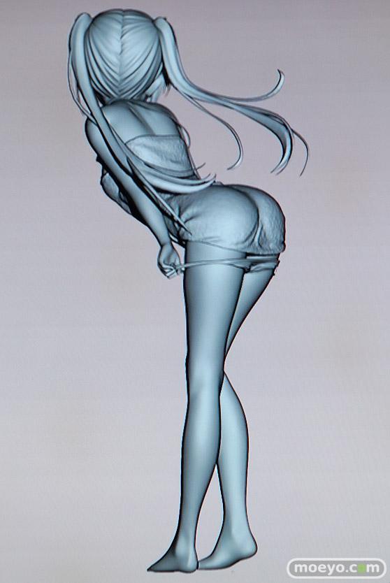 美少女大陸のこうたろさんイラスト新作フィギュアの3D原型画像05