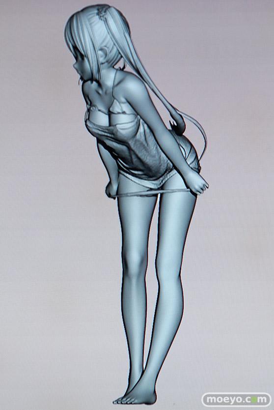美少女大陸のこうたろさんイラスト新作フィギュアの3D原型画像06