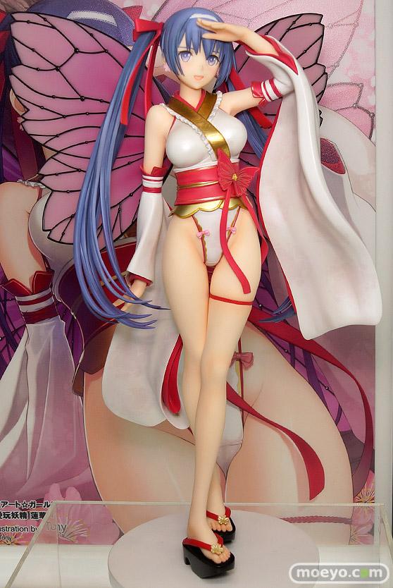 アルファマックスのT2アート☆ガールズ 愛玩妖精 蓮華の新作フィギュア彩色サンプル画像01