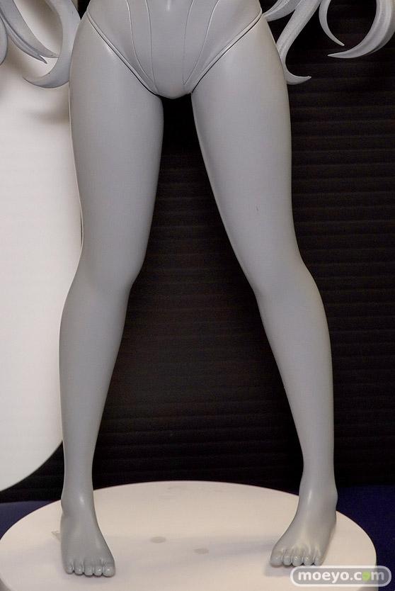 回天堂の超次元ゲイム ネプテューヌ ノワール 競泳水着 立ちポーズver.の新作フィギュア原型画像09