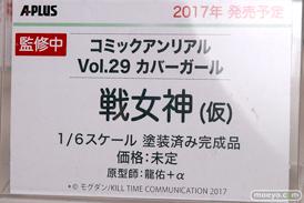 エイプラスのコミックアンリアル Vol.29 カバーガール 戦女神(仮)の新作フィギュア原型画像09