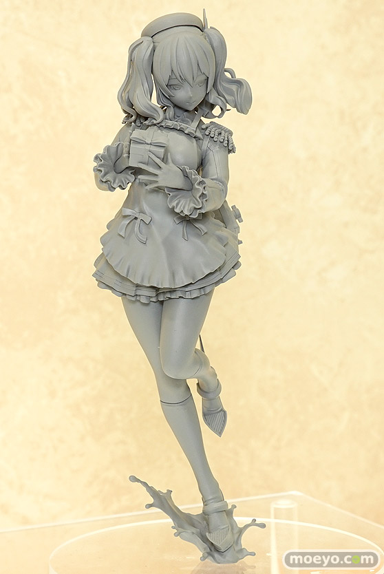 キューズQの艦隊これくしょん-艦これ- 鹿島 バレンタインmodeの新作フィギュア原型画像02